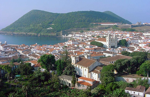 Azores Islands: Angra do Heroismo on Terceira
