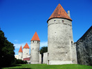 Estonia: Tallinn Town Wall Towers