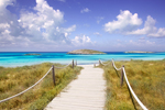 Formentera Island in the Balearic Islands of Spain