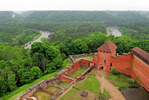 Latvia: Medieval Castle on a River