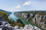 Danube Gorge on Romania's Border With Serbia