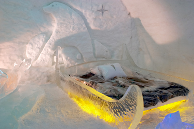 An Ice Hotel in Sweden
